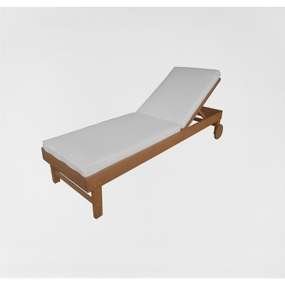 Beau Chesapeake Wood Patio Chaise Lounge   Threshold™