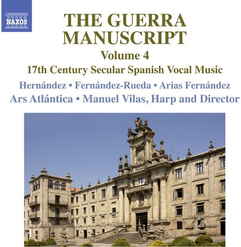 Ars Atlantica - Guerra Manuscript:Vol 4 (CD) - image 1 of 1