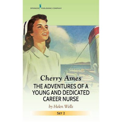 Cherry Ames Set, Books 5-8 - (Cherry Ames Nurse Stories) by  Helen Wells (Paperback)