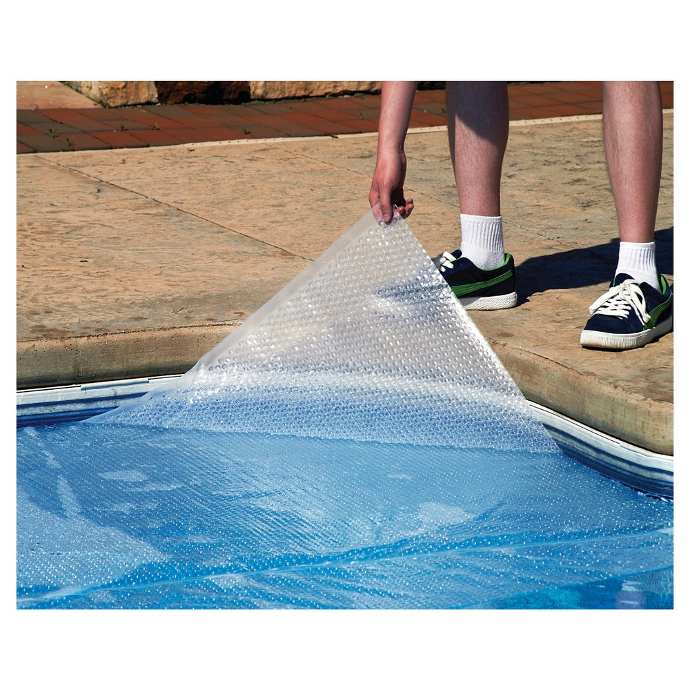 33' Round 12-mil Solar Blanket for Above Ground Pools - Clear