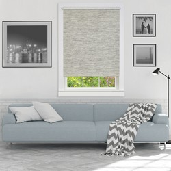 Cordless Privacy Jute Window Shade - Achim