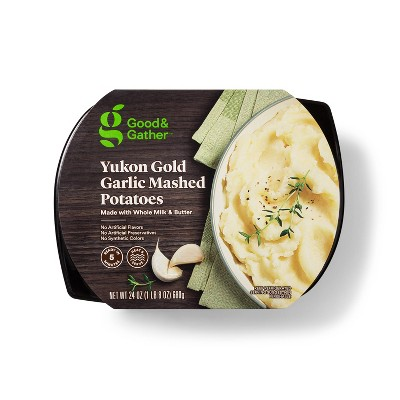 Yukon Gold Garlic Mashed Potatoes - 24oz - Good & Gather™