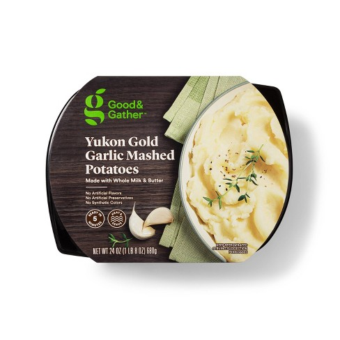 Yukon Gold Garlic Mashed Potatoes - 24oz - Good & Gather™ - image 1 of 2