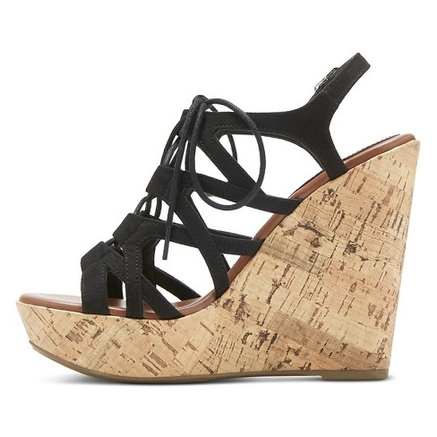 03bfe8170a7f Women s Selena Gladiator Sandals - Mossimo Supply Co.™ Black 6   Target