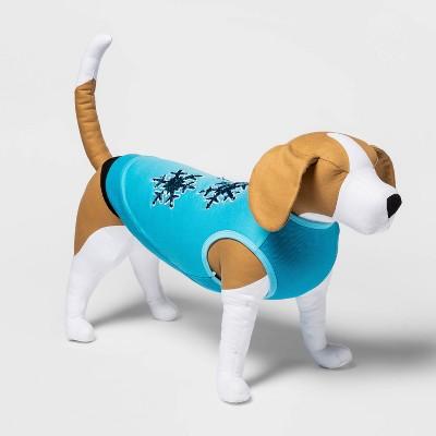 Snowflakes Flip Sequin Holiday Dog Sweatshirt - XL - Wondershop™