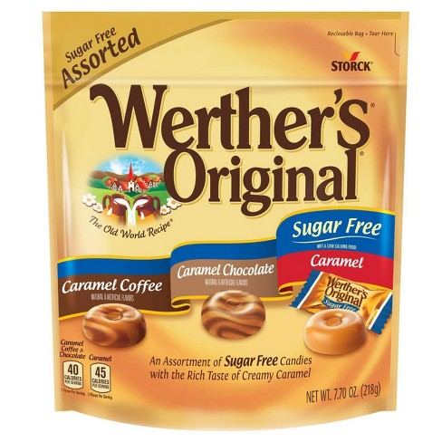 Werther's Original Sugar Free Assorted Flavors - 7.7oz - image 1 of 2