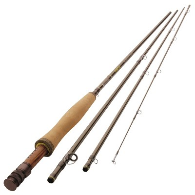 Redington 590-4 Path Outfit 5 Line Weight 9 Foot 4 Piece Lightweight Medium Fast Action Graphite Fly Fishing Rod Pole with Storage Tube