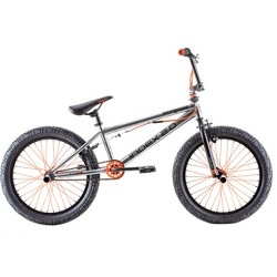 """Mongoose Index 2.0 20"""" Freestyle Bike - Silver"""
