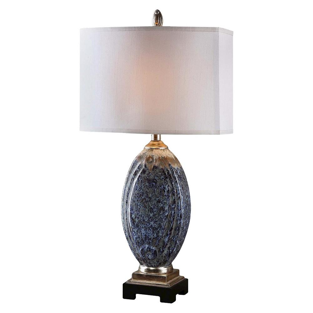 Uttermost Blue Latah Lamp (Lamp Only) - Blue