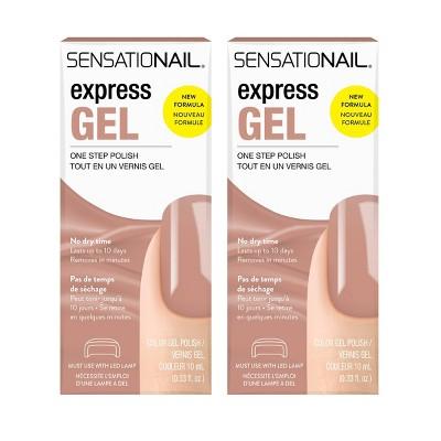 SensatioNail Express Gel Nail Polish - 0.33 fl oz/2pk