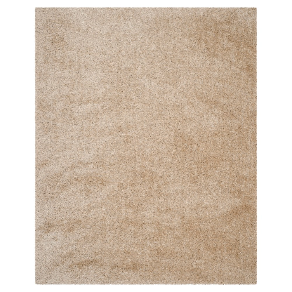 Champagne (Beige) Solid Tufted Area Rug - (8'x10') - Safavieh