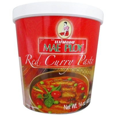 Mae Ploy Red Curry Paste - 14oz