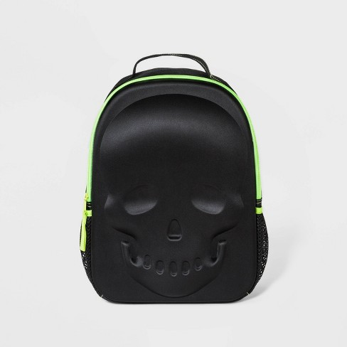 Kids' Skeleton Backpack - Cat & Jack™  Black - image 1 of 2