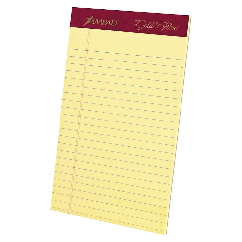 """Ampad Legal Pads 5"""" x 8"""" - Canary - image 1 of 1"""