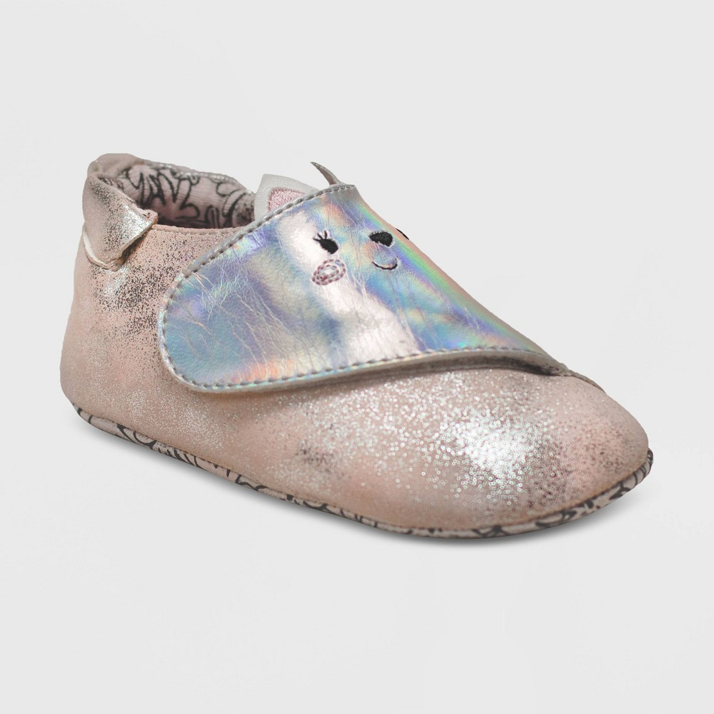 Ro+Me by Robeez Baby Girls' Kitty Mini Shoes - Pink 12-18M