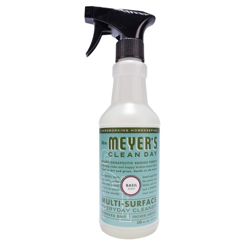 Mrs. Meyer's Clean Day Basil Scent Multi-Surface Everyday Cleaner - 16oz - image 1 of 4