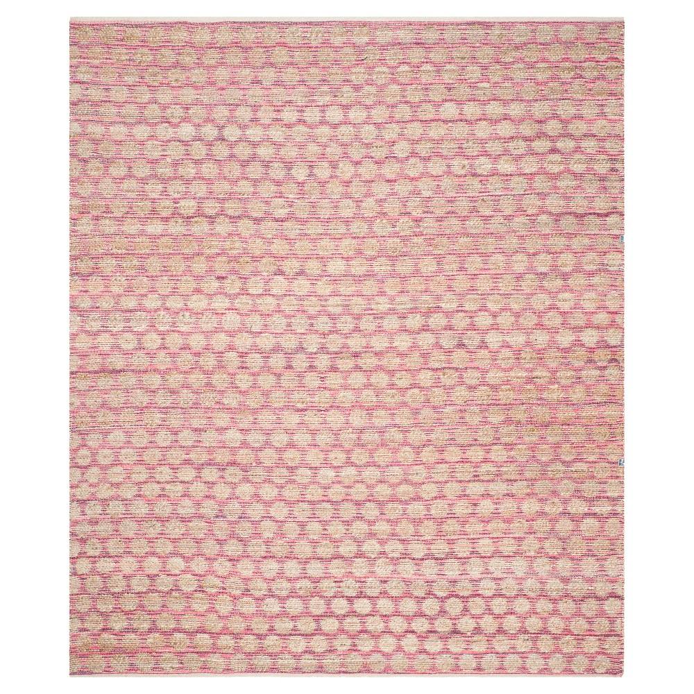 Caleb Area Rug - Maroon/Natural (Red/Natural) (8'x10') - Safavieh