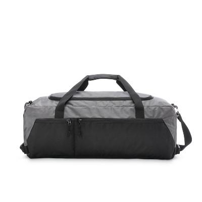 High Sierra 60L Essential Duffel Bag - Mercury/Black