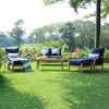 Caterina Teak Lounge Chair with Cushion - Cambridge Casual - image 4 of 4
