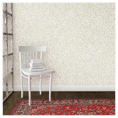 Devine Color Speckled Dot Peel Stick Wallpaper Karat Target