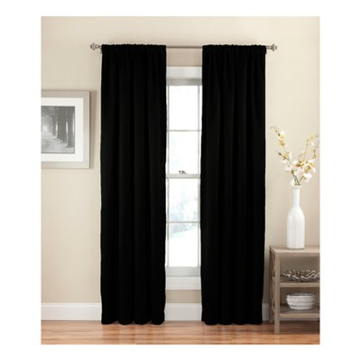 Solid Thermapanel Room Darkening Curtain Panel - Eclipse