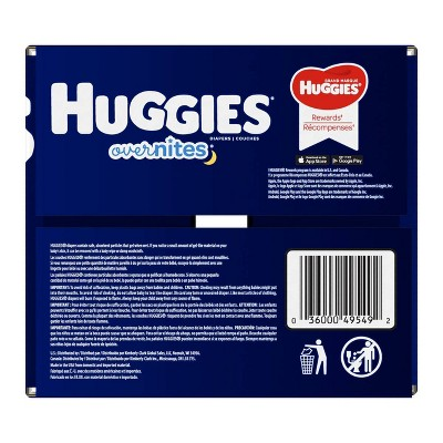 Huggies OverNites Diapers - Size 6 (54ct)