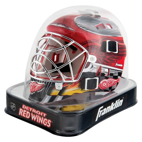Franklin Sports NHL Detroit Red Wings Mini Goalie Mask - image 1 of 1