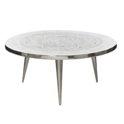 Aluminum Coffee Table - Olivia & May