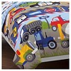 Dream Factory Trains and Trucks Mini Bed in a Bag - Blue (Twin) - image 3 of 3