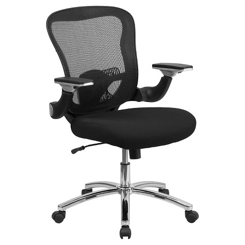 Executive Swivel Office Chair Black Mesh - Flash Furniture - image 1 of 1