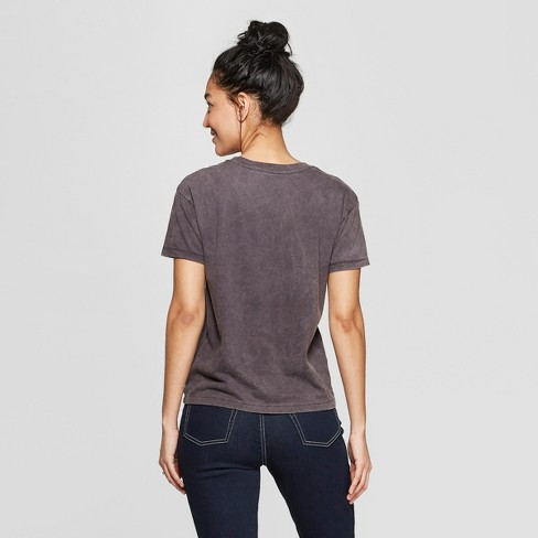 77cd85e4ee544 Women's Captain Marvel Logo Short Sleeve Graphic T-Shirt (Juniors') -Black.  Shop all Marvel. kristyyaponte