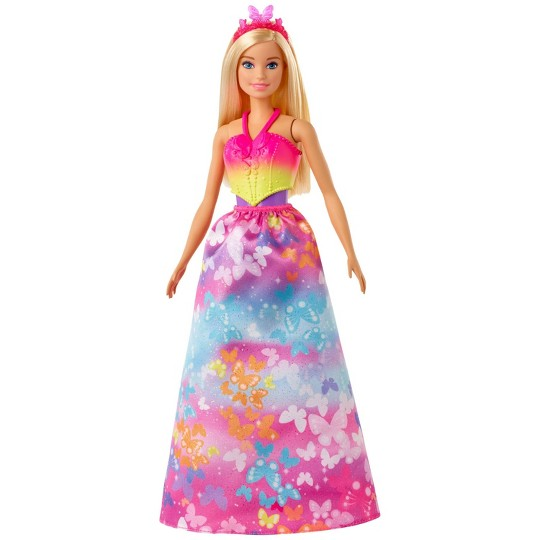 Barbie Dreamtopia Dress Up Blonde Doll Giftset image number null