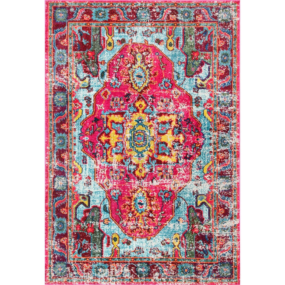 Solid Loomed Area Rug 10'X14' - nuLOOM, Silver