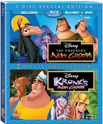 The Emperor's New Groove/Kronk's New Groove [3 Discs] [Blu-ray]