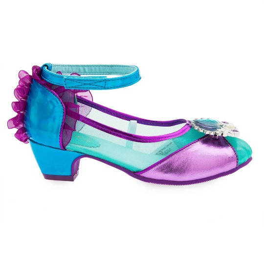 Girl's Little Mermaid Ariel Costume Shoes - 13/1 - Disney store, Women's, Size: 13-1, Purple image number null