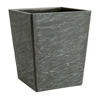 Fauxstone Wastebasket Natural - Allure Home Creations