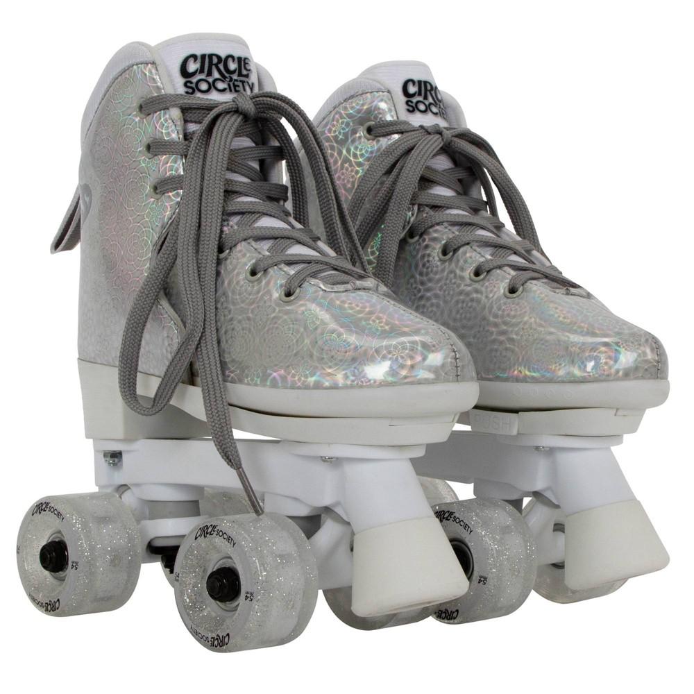 Circle Society Adjustable Skate Disco A Size 12-3, Kids Unisex