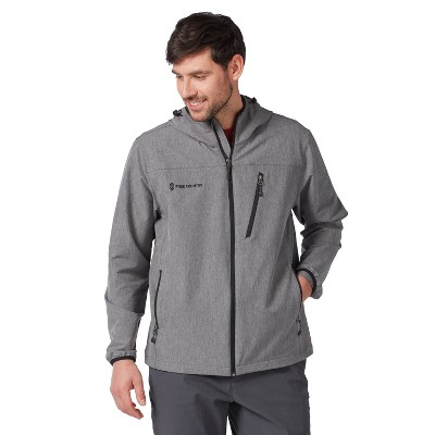 Men's Free Country Lightweight Aerobic Hooded Softshell Jacket