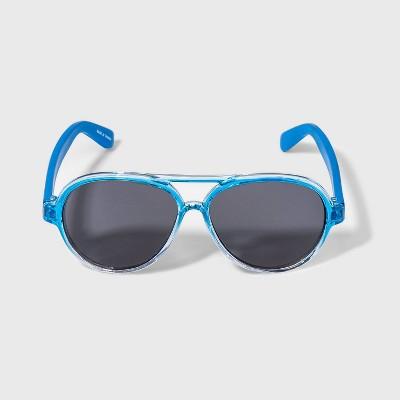 Toddler Boys' Aviator Sunglasses - Cat & Jack™ Blue