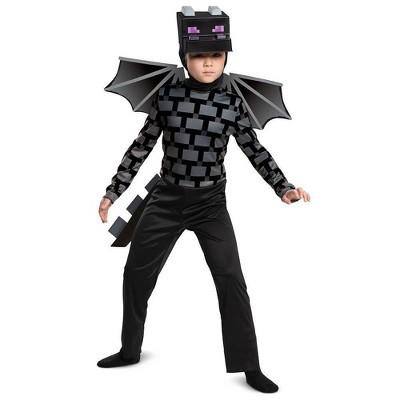Kids' Minecraft Ender Dragon Halloween Costume Jumpsuit