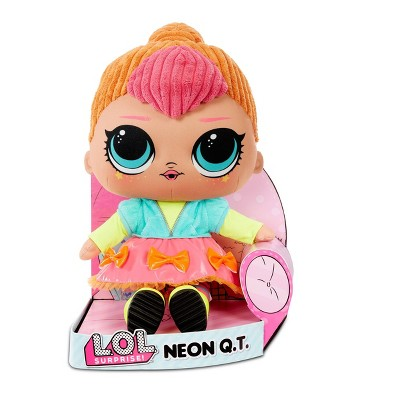 L.O.L. Surprise! Neon Q.T. Huggable Soft Plush Doll