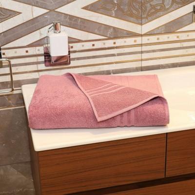 Denzi Turkish Towel Bath Sheet Tea Rose - Linum Home Textiles