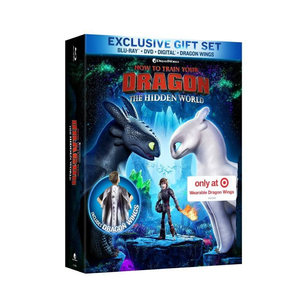 How to Train Your Dragon: The Hidden World - Target Exclusive (Blu-Ray + Dvd + Digital)