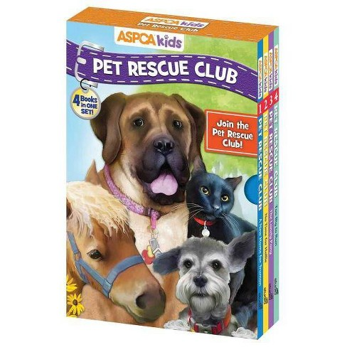 ASPCA Kids: Pet Rescue Club: 4 Book Boxed Set - by  Catherine Hapka & Dana Regan (Paperback) - image 1 of 1