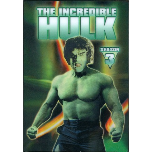 ceed879a75ef The Incredible Hulk: The Complete Third Season [5 Discs] : Target