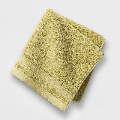 Soft Solid Washcloth Green - Opalhouse™