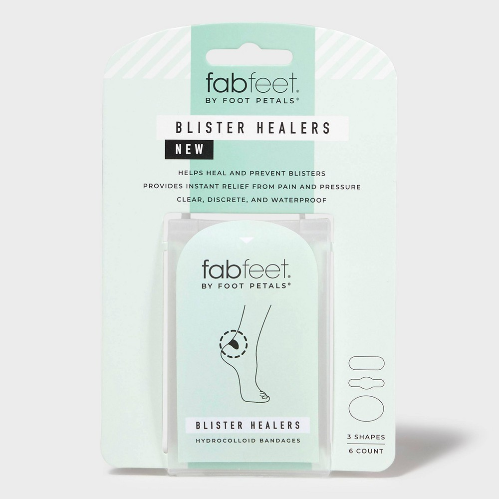 Image of Women's Fab Feet by Foot Petals Blister Healers Foot Pain Treatments - 6 pack