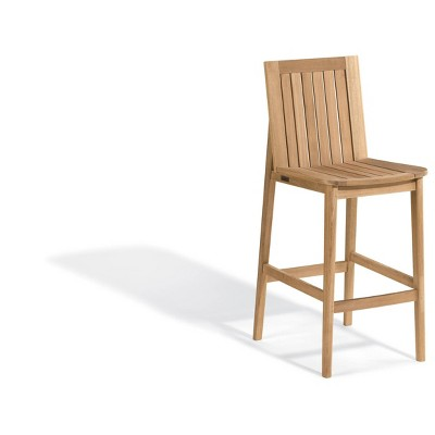 Islay Patio Teak Bar Chair - Oxford Garden