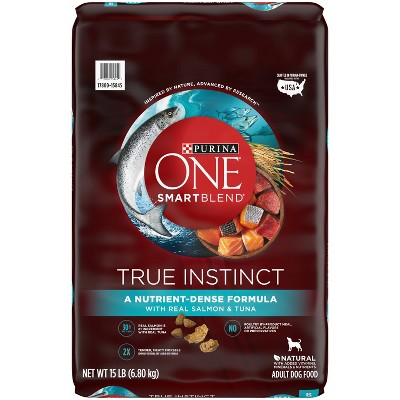 Purina ONE SmartBlend True Instinct with Real Salmon & Tuna Adult Dry Dog Food