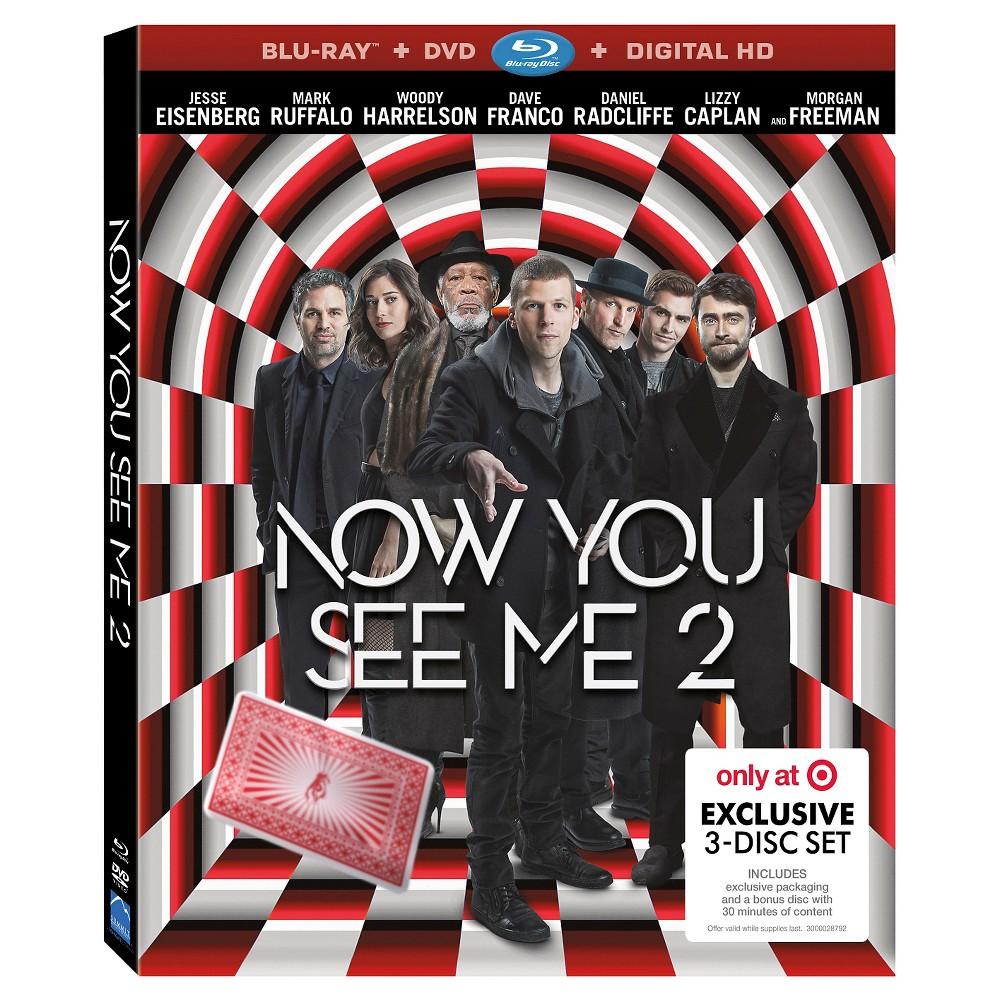 Now You See Me 2 - Target Exclusive (Blu-ray + Dvd + Digital)